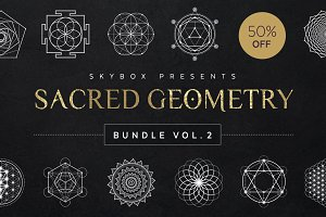 Sacred Geometry Vector Bundle Vol. 2