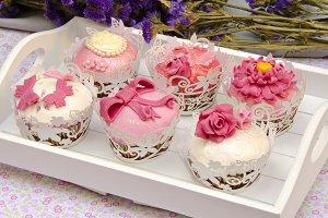 bandeja cupcake