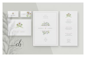 Citrine • Wedding Invitation Suite
