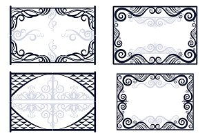 Frames with Abstract Pattern