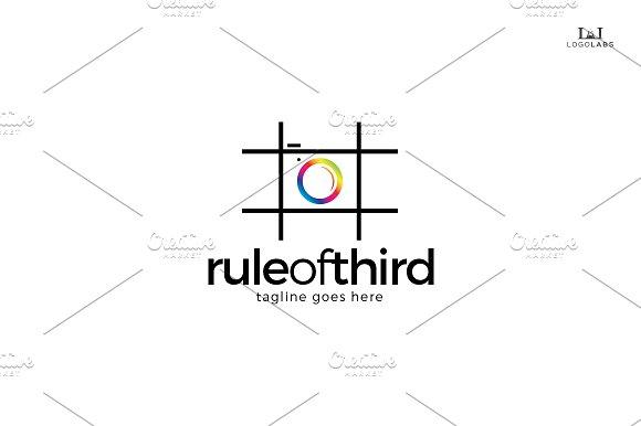 rule of third logo logo templates creative market