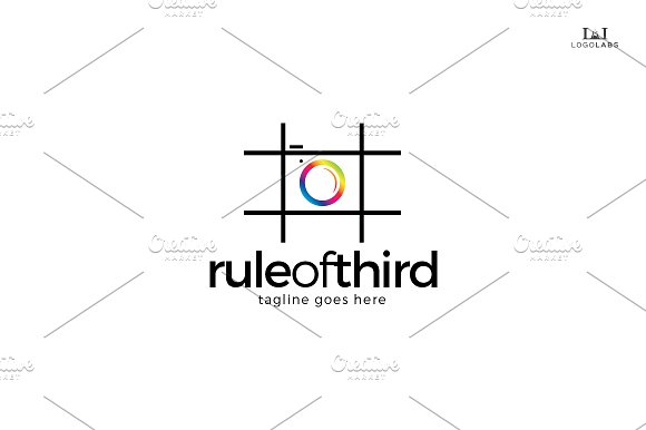 Rule Of Third Logo in Logo Templates