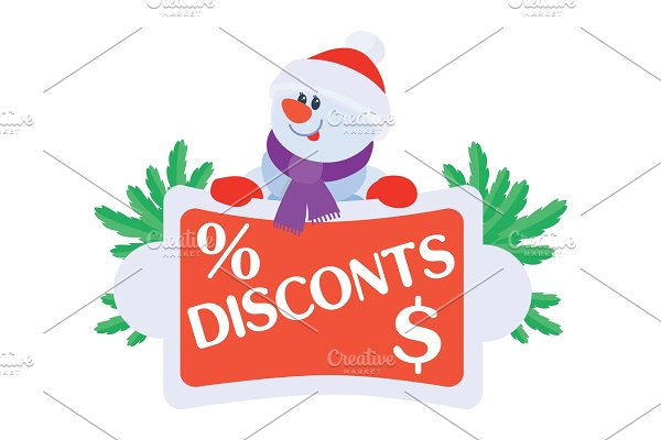 Best Price Discounts Snowman with