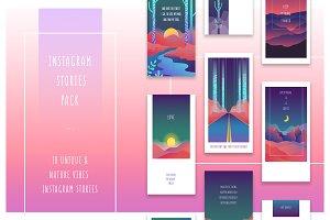 Illustration Instagram Stories Pack