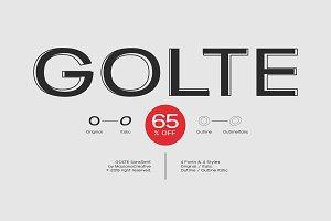 Golte Sans Font - 65% OFF