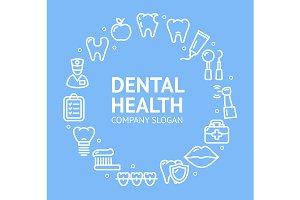 Dental Health Round Design Template