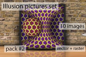 Optical Illusion pictures Pack 2