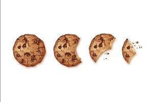 Bitten Chip Cookies