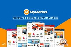 MyMarket - Supermarket Magento Theme