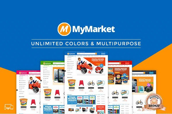 Magento Themes - MyMarket - Supermarket Magento Theme
