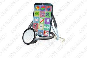 Mobile Phone Health Medical App