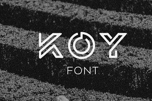 KOY Font
