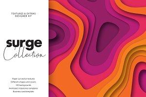 Surge Kit | Paper Cut graphics