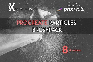 Procreate Particles Brushset