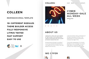 Collen – Email template + Builder