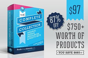 [SAVE $665] Complete Collection