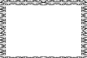 White Landscape Frame Background wit