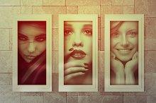 Realistic Photo Frame Mock-Ups