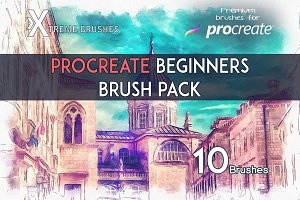 Procreate Beginners Brushset