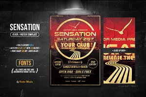 Sensation - Flyer