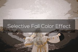 Selective Fall Color Effect