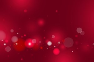 Red bokeh background design