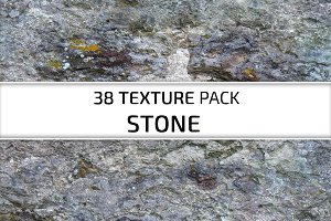 38 Textures Pack. Stone
