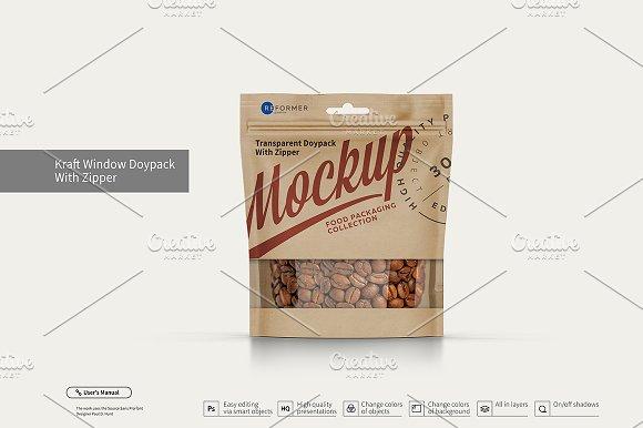 Six Doy-Pack Mockup 40% OFF!