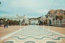 Promenade in Alicante, Spain by  in Nature