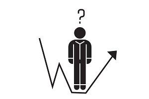 Business question, businessman