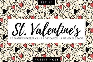 St. Valentine's Day Pack - Set 1