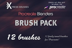 Procreate Blenders Brushset