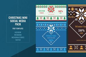 Christmas Mini Social Media Pack