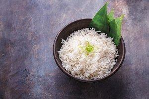 Nasi lemak or Malay fragrant rice