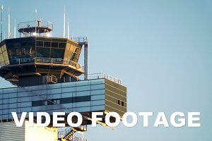 Airport traffic control tower