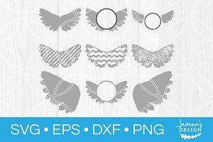 Angel Wings SVG