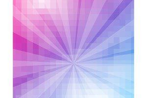 Purple Blue Grid Mosaic