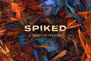 Spiked: 12 Pointy 3D Textures