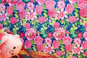 Vintage Colourful Cloths Retro