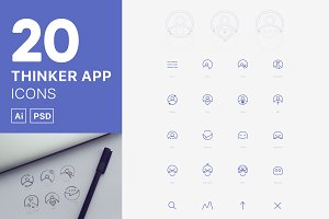 Thinker App Icons