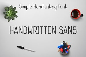 Handwritten Sans