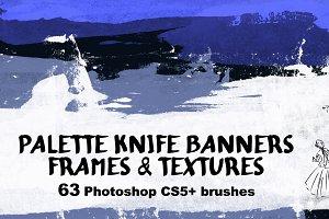 63 Banner Brushes
