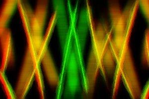 Futuristic vivid strokes abstract