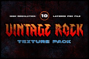 Vintage Rock Texture Pack