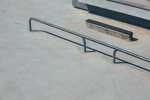 Skate park obstacles
