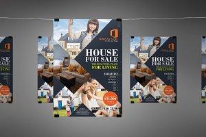 Real Estate & House Sale Flyer