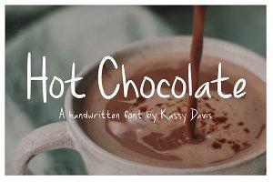 Hot Chocolate Handwritten Font