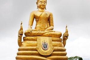 Golden Buddha statue of Big Buddha