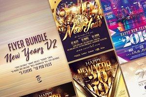 New Years Flyer Bundle V2