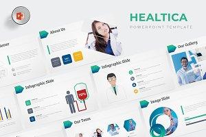 Healtica - Powerpoint Template